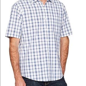 AMAZON BRAND   Short-sleeve button-front shirt